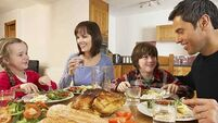 What way is best to get kids to go from whining to dining at the dinner table?