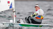 Annalise Murphy defies odds to hit the front