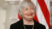 Dollar falls on Federal Reserve chair Janet Yellen's speech