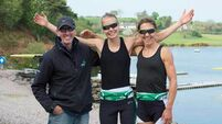 Irish Olympic rowers Sinead Jennings and Claire Lambe are living the dream