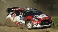 Kris Meeke and Paul Nagle chasing special hat-trick in Wales
