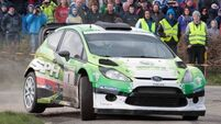 Roy White closes in on Triton Showers National Rally Championship