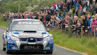 Declan Boyle stands out in hot entry for Harvest Rally