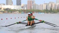 Gary and Paul O'Donovan power into Olympic medal reckoning