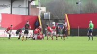 The atmosphere was electric at the Munster School Senior Rugby Cup Quarter Final