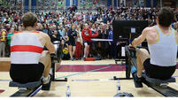 Paul and Gary O'Donovan make a splash at 2017 Indoor Rowing Championships