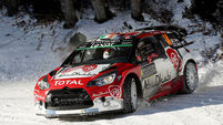 Craig Breen and Scott Martin fifth in Monte Carlo