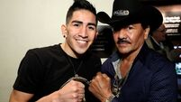 Determined Leo Santa Cruz is a proud son of Mexico
