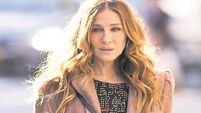 Sarah Jessica Parker has a laugh with new TV show Divorce