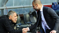 Manchester primed for latest clash of rival managers Pep Guardiola and Jose Mourinho