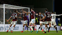 Jeff Hendrick nets as Burnley deliver