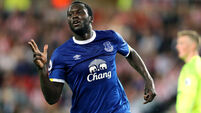Romelu Lukaku back with a bang as Everton hit three past Sunderland