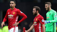 Jose Mourinho doubts Man United players' mental strength