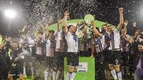 Dundalk celebrate title in style