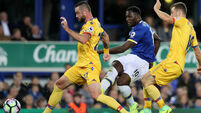 Damien Delaney denied as Everton hold Crystal Palace