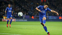 Okazaki and Mahrez secure top spot for Leicester
