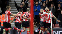 Josh Sims enjoys dream debut as Southampton prevail against Everton