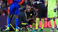Jinxed Vincent Kompany sidelined for 35th time in Man City career
