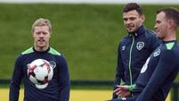 I'm here to play, says cool Daryl Horgan