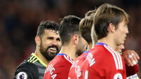 Antonio Conte hails ruthless Diego Costa as Chelsea mean business