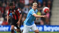 AFC Bournemouth v Manchester City - Barclays Premier League - Vitality Stadium