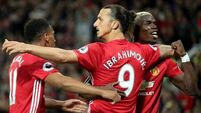 Friday night lights for brilliant Zlatan Ibrahimovic