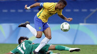 Brazil's golden boy Neymar proves his mettle