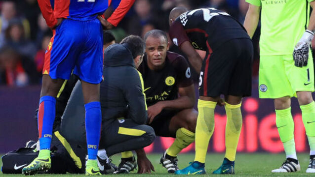 Vincent Kompany in line for Man City return
