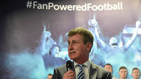 Stephen Kenny: Playing Man United in Dublin would have been embarrassing