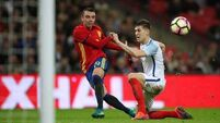 England 'devastated' by Spain's late, late show