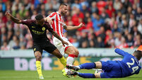 Stoke City v Manchester City - Premier League - The Bet365 Stadium