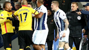Tony Pulis tells James McClean to cool it