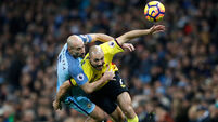 Pablo Zabaleta gets nervous Man City back on track