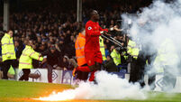 Sadio Mane delivers at the death for Liverpool in Merseyside derby