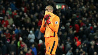 Darren Randolph recovers after howler