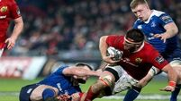 Genial South African giant Jean Kleyn loving life in Munster