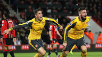 Giroud comes to the rescue as Arsenal refuse to yield