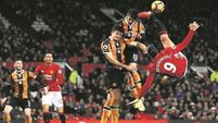 Frustration for Jose as man United fail to take advantage against Hull