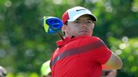 Carl Frampton takes Rory McIlroy's mind off putting woes