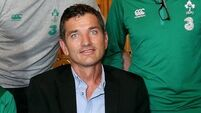Rugby legend Joost van der Westhuizen Meets The Irish Rugby Team 7/11/2014