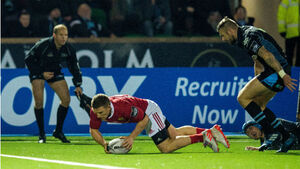 Mighty Munster outgun Glasgow Warriors in fierce battle