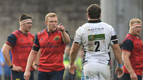 Keith Earls apologises again for red card against Glasgow