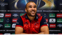 Behind Simon Zebo's smile is a man of steel