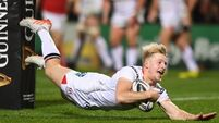 Rob Lyttle speeding through the ranks with Ulster