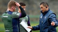 Lam's Connacht ready to vent frustrations on Dragons