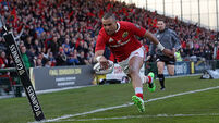 Simon Zebo adds to Munster injury woes ahead of Cardiff clash