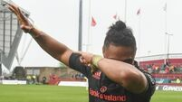 Munster will turn to youth after Francis Saili injury setback