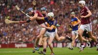 Hurling thunder and lightning: And a storm's on the way