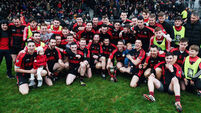 Kenmare's forward power leaves Adare on the ropes