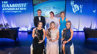The 2016 Camogie Association/WPGA Player's Players of the Year with Alan Johnston, Catherine Neary and Aoife Lane5/11/2016